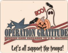 Treats for our troops