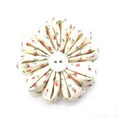 How to make a fabric Gerbera Daisy flower