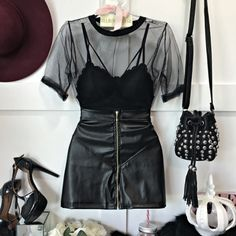 2019 Casual Fashion Trends For Women - Fashion Trends Edgy Outfits, Mode Outfits, Grunge Outfits, Night Outfits, Summer Outfits, Fashion Outfits, Womens Fashion, Fashion Trends, Ladies Fashion