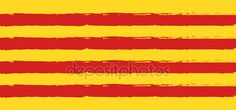 Download - Catalonia flag background, red and yellow color stripes, colorful brush strokes painted national flag banner. Painted texture. Independence day patriotic background. Estelada Abstract design poster vector illustration — Stock Illustration #168525854