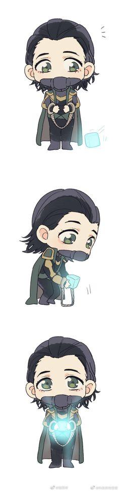 Loki gets his tesseract back! Marvel Jokes, Loki Thor, Loki Laufeyson, Marvel Funny, Marvel Dc Comics, Marvel Heroes, Avengers Memes, Marvel Avengers, Baby Loki