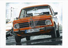 BMW 2002tii by przemus on DeviantArt