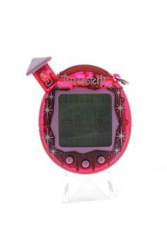 Tamagotchi (Bandai) Connection familitchi rose transparent - clear pink