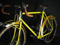 Yipsan city bike at North American Handmade Bicycle show this weekend in Sacramento CA.