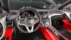 2018 Acura NSX interior specs