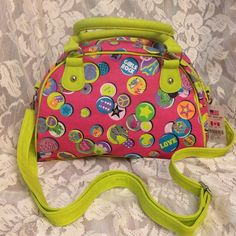 Pretty Girl's Satchel Purse Handbag Cute and colorful Girl's Satchel Purse Handbag  from Claire's . Made of soft faux leather. New, excellent condition. Claire's Bags Satchels