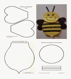 for the daycare kiddos Ladybug Felt, Ladybug Crafts, Bee Crafts, Preschool Crafts, Easter Crafts, Arts And Crafts, Flower Applique Patterns, Applique Templates, Felt Patterns