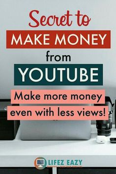investing for beginners,investing in yourself,investing ideas,investing money Making Money On Youtube, Youtube Money, Youtube Live, Make Money From Home, Way To Make Money, How To Make, Youtube Secrets, Keyword Planner, Marketing Software