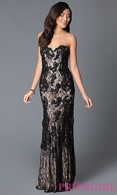 Floor+Length+Strapless+Sweetheart+Beaded+Lace+JVN+by+Jovani+Dress++at+PromGirl.com