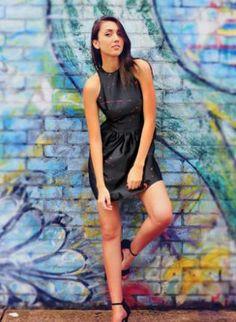 UsTrendy Dutchess Satin Paint-Splattered Mini Dress #cute #trendy