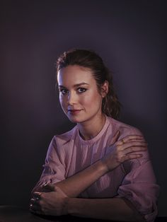 Brie Larson by Brinson + Banks for Variety.