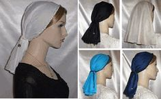 Traditional Jewish woman's head covering