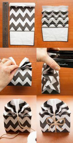 gift wrap fan how to