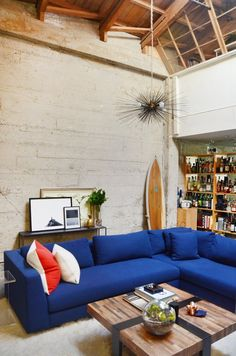 House Tour: A Modern & Personalized West Oakland Loft | Apartment Therapy