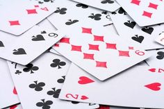 playing cards for math games