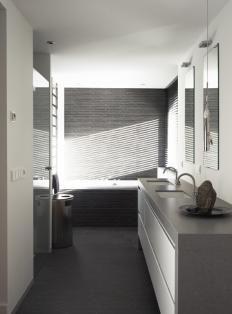 Bathroom, badkamer modern/ landelijk