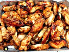 Oh So Good Jack Daniel's Chicken Wings are fabulous! They're easy to prepare, suitable for grilling or oven and taste out of this world with a great marinade.