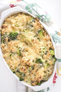 Mac'n'cheese med broccoli