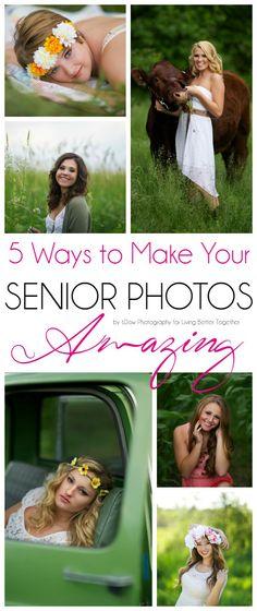 5 Ways to Make Your Senior Photo Experience Amazing