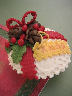 Christmas Cupcakes - Decorated Christmas Art That You Can Eat
