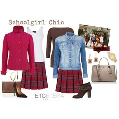 """""""Etcetera: Schoolgirl Chic"""" by etcetera-nyc on Polyvore"""