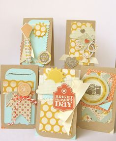 Pattern paper cards