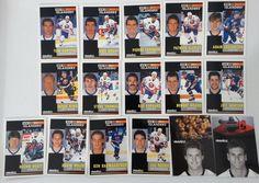 1991-92 Pinnacle New York Islanders Team Set of 16 Hockey Cards #NewYorkIslanders