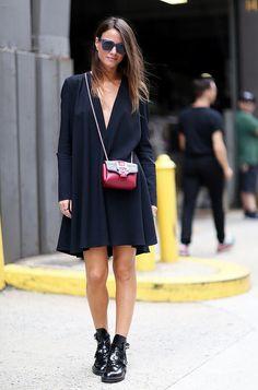 How To Give Your Little Black Dress An Edge (via Bloglovin.com )