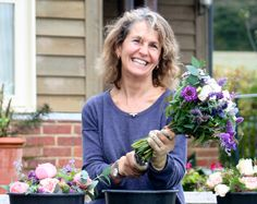"""In this installment of """"The Farmer & the Florist"""" Floret interviews Rosebie Morton of The Real Flower Company."""