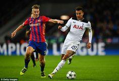 Tottenham midfielder Dele Alli (right) scored 11 goals in the Premier League last season