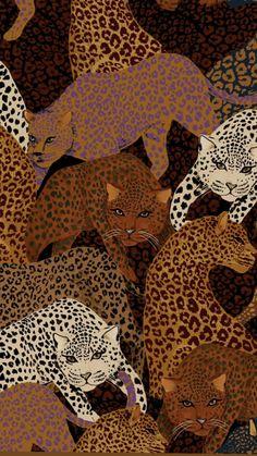 Disney Tapete, Hippie Wallpaper, Cute Patterns Wallpaper, Animal Print Wallpaper, Iphone Background Wallpaper, Aesthetic Art, Cute Wallpapers, Collage Art, Cool Art