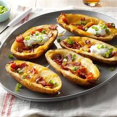 Inspired by: Loaded Potato Skins from TGI Fridays