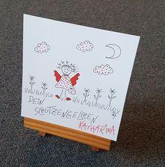 Geschenke für Frauen - Persönliches Schutzengelchen - ein Designerstück von textatelier bei DaWanda