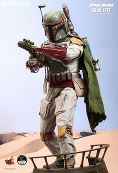Star Wars: Boba Fett - Giant | Deluxe-Figur (voll beweglich) | Hot Toys | http://www.spaceart.de/produkte/sw045.php