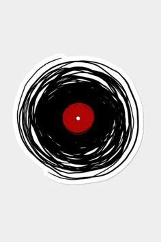 Spinning With A Vinyl Record - Retro Music DJ