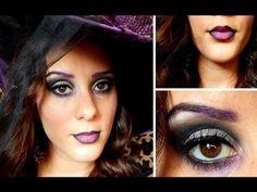 Witch Halloween Makeup Tutorial #halloween #makeup #halloweencostumeideas #halloweenmakeup