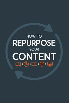 How to repurpose your content // online marketing for therapists & counselors