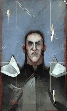 Loghain tarot card, Dragon Age: Inquisition