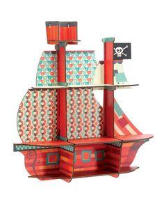 Pirate Ship Shelf.