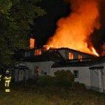 Villa Brizzi Moergestel opnieuw in vlammen ( Film)