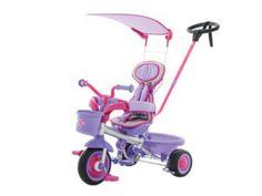Eurotrike Kids Ultima Canopy Plus Girls Tricycle