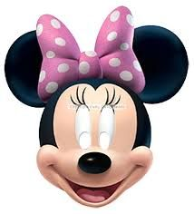 Buy Disney Minnie Mouse Mask today at IWOOT. Minnie Mouse Birthday Cakes, Mickey Mouse Cake, Mickey Mouse And Friends, Mickey Mouse Clubhouse, Mickey Minnie Mouse, Minnie Mouse Rosa, Minnie Mouse Pictures, Masque Halloween, Halloween Face Mask