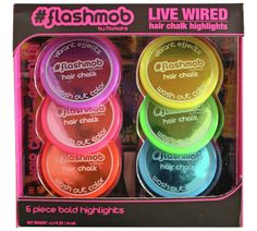 Buy Flashmob Live Wire Hair Chalk Set at Argos.co.uk - Your Online Shop for Hair care accessories, Hair care, Health and beauty.