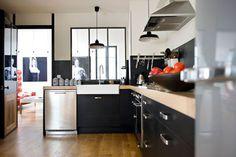 24 bonnes idées pour une cuisine moderne et pratique - Côté Maison