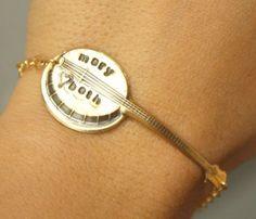 Custom Banjo Bracelet @Crystal Downing!!