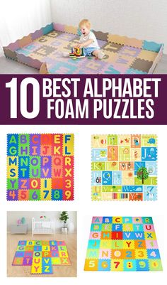 Puzzles are an important part of childhood helping children to develop their fine motor skills, hand/eye coordination, and even logical thinking. ABC puzzles made of foam have the added benefit of helping toddlers and preschoolers learn and recognize the letters of the alphabet and are a texture that children love.