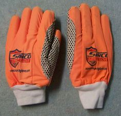 #Sarco #ImpactGloves Work Protection Orange White #Sacro