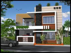Top 1600 Square Feet (sq) Home Design, Ideas, Gallery, interior – Home decoration ideas and garde ideas Bungalow House Design, House Front Design, Small House Design, Modern House Design, Home Design, Design Ideas, New House Plans, Dream House Plans, House Design Pictures