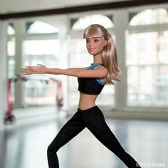 Feeling the burn at my first @modelfit class! A must-try workout when in NYC. #modelfitbabe #barbie #barbiestyle