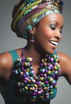 Африканские мотивы в украшениях Maud Villared
